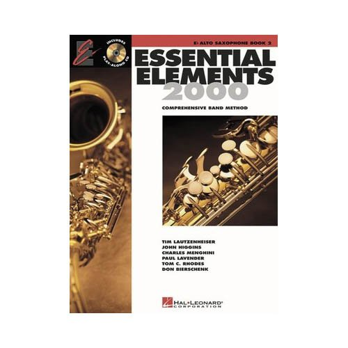 Hal Leonard Essential Elements for Band - Eb Alto Saxophone (Book 2 with EEi)