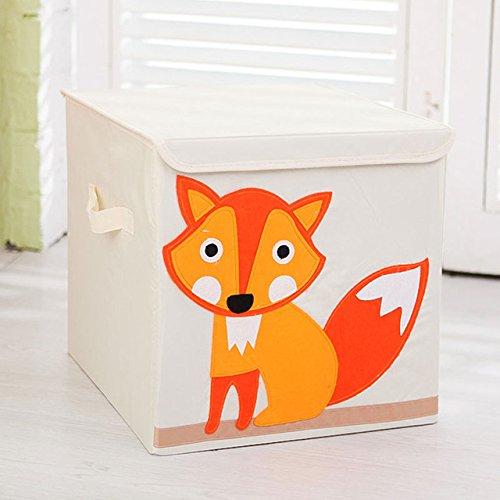 Generic Animal Folding Storage Box Children Clothes Toy Sundries Organizer Box