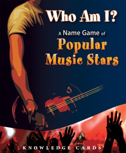 Who Am I? A Name Game of Popular Music Stars Knowledge Cards Deck