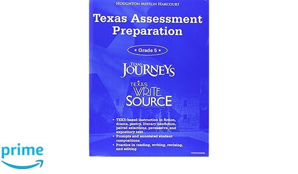 Texas journeys texas write source student tx assessment texas write source student tx assessment preparation grade 5 great source write source great source 9780547749082 amazon books fandeluxe Gallery