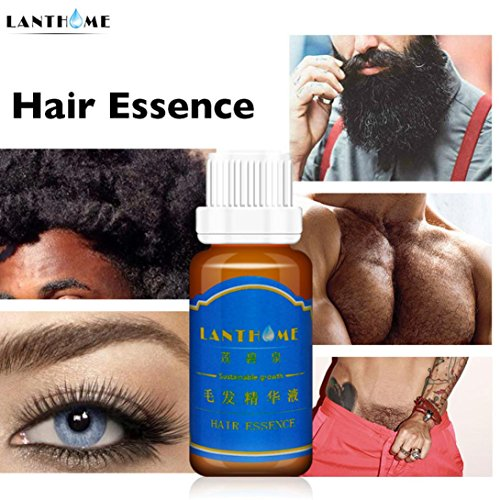 Iusun 20ml Hair Growth Liquid Spray Extra Strength of Hair Anti Hair loss Essence (Brown,20ml)