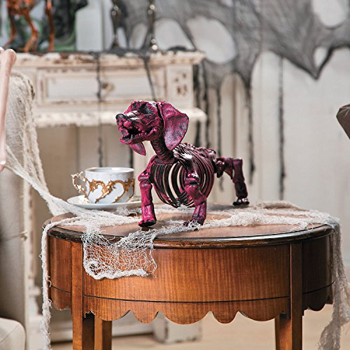 Hot Pink Halloween Skeleton Dachshund -