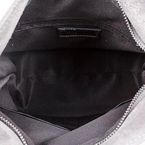 pour argent ARTEGIANI Cabas Gris Femme FIRENZE Noir wPxHECqC8