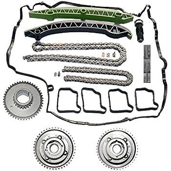 Amzparts Camshaft Adjuster Timing Chain Kit For Mercedes W203 W204 C250 SLK250 E250 M271