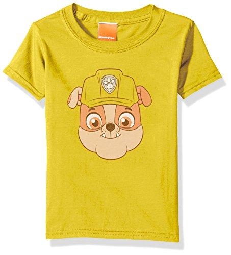 Nickelodeon Kids Toddler Paw Patrol Rubble Big Face Tee