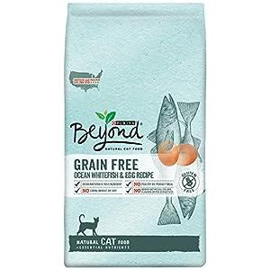 Purina Beyond Natural Grain Free Ocean Whitefish & Egg Recipe Dry Cat Food