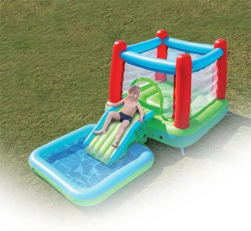 itsImagical - Bounce House, Juego Hinchable con Piscina ...