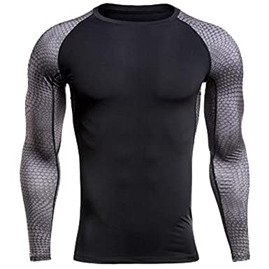 e952f2c281b Amazon.com  Men s Compression Shirts