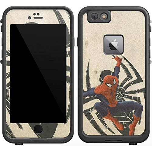 Marvel Spider-Man LifeProof Fre iPhone 6/6s Plus Skin - Spider-Man Jump Vinyl Decal Skin For Your Fre iPhone 6/6s Plus