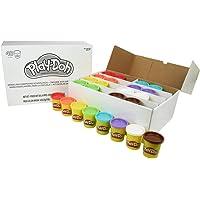Play-Doh skolpaket, 48 doser knådning i 6 färger för skolor, kit och födelsedagar