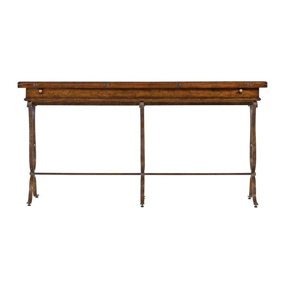 Stanley Furniture Arrondissement Villette Flip Top Console Table In  Heirloom Cherry: Amazon.ca: Home U0026 Kitchen
