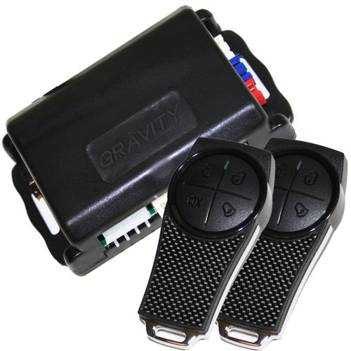 Gravity Car Alarm & Keyless Entry System w/External Shock Sensor G2SX