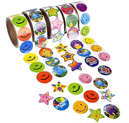 Rhode Island Novelty Sticker Roll Assortment (10 rolls) ()