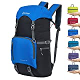 ZOMAKE 40L Water Resistant Hiking Daypack, Lightweight Packable Travel Backpack for Outdoor, Camping