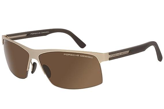 7134f77284f6 Amazon.com  Porsche Designs Sunglasses P8561 B Gold