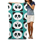 Shower Curtain pillow Beach Towel Panda Microfiber Towel
