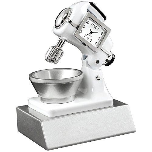 (Miniature Kitchen Mixer Clock Novelty Collectors)