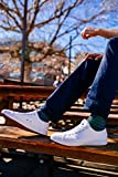 Fear0 Unisex True to Size All White Tennis Casual