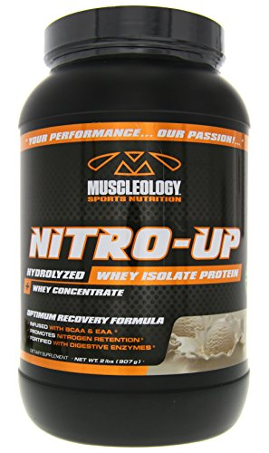 Muscleology Nitro-Up Vanilla Supplement, 2 Pound