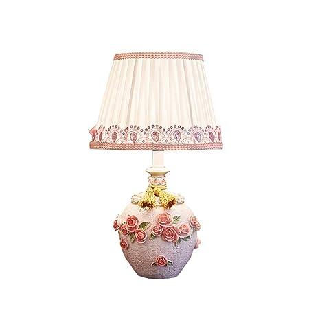 LCSHAN Lámpara de Mesa LED Creativa Lámpara práctica Linda ...