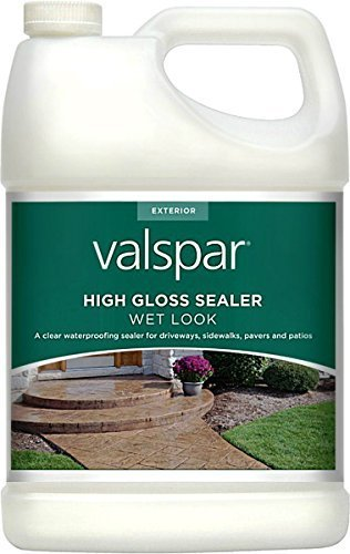 Valspar 24-82390 Gl 1 Gal Clear Wet Look High Gloss Sealer by Valspar