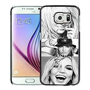 Popular Design Samsung Galaxy S6 Case Britney Spears 1 Black Best New Design Samsung Galaxy S6 Cover Case