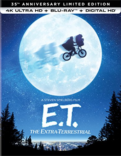 4K Blu-ray : E.T. The Extra-Terrestrial (35th Anniversary Limited Edition) (With Blu-Ray, Limited Edition, 4K Mastering, Ultraviolet Digital Copy, Anniversary Edition)