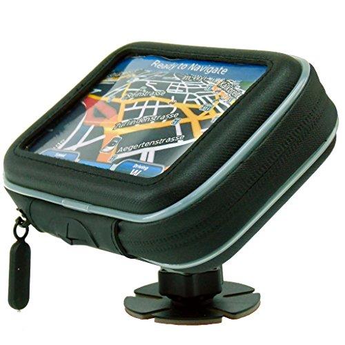 Motorcycle Handlebar Mount /& Waterproof Case For Garmin Dezl 570 580 LMT-D GPS