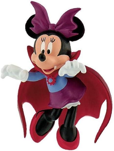 Minnie Mouse- Figura Minnie Vampira 6,5cm de Mickey Mouse Monster Muñecas (BULLYLAND 1): Amazon.es: Juguetes y juegos