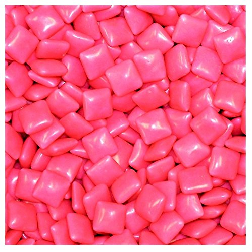 25 Lbs Flavor Tabs - Dubble Bubble Original 1928 Flavor Pink Chewing Tab Gum - 9,900 ct. (25 Pounds)