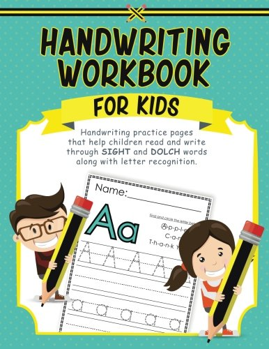 Handwriting Workbook for Kids: Handwriting practice pages ...