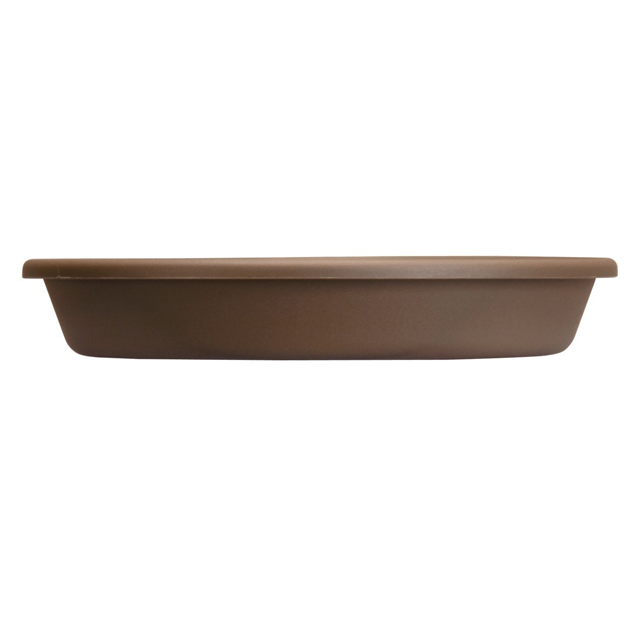 """Classic Pot Saucers, 13-7/8"""" outside dimension, chocolate"""