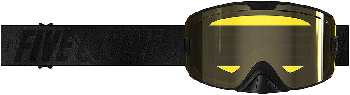 Black with Yellow 509 Kingpin Goggle