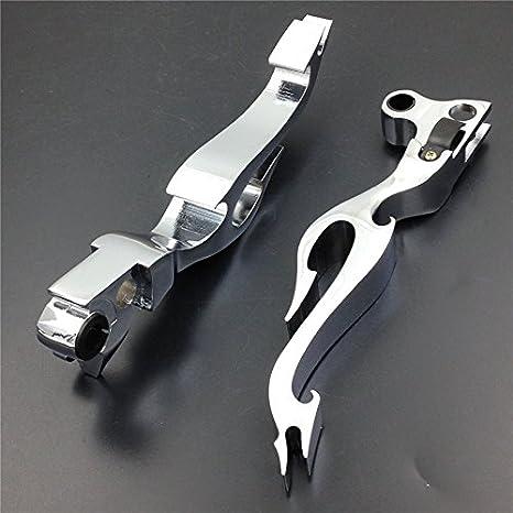 FXCNC Racing Motorcycle Aluminum Blade Brake Clutch Levers Fit for Honda GROM MSX125 14-18,CBR250R 11-13,CBR500R CB500F CB500X 13-18