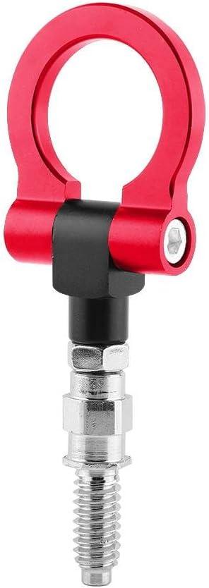 Fydun Abschlepphaken Universal Abschlepp/öse Abschlepphaken Anh/ängerkupplung Auto Anh/änger Aluminiumlegierung Abschlepphaken Abschleppring f/ür E-Serie Rot