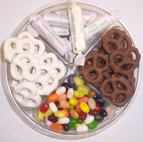 Scott's Cakes 4-Pack Assorted Jelly Beans, Chocolate Pretzels, Yogurt Pretzels, & Salt Water Taffy by Scott's Cakes