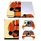 EBTY-Dreams Inc. - Microsoft Xbox One Slim - Samurai Champloo Anime Mugen Jin Vinyl Skin Sticker Decal Protector
