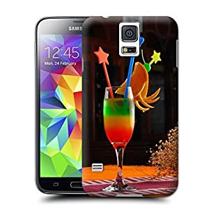 Unique Phone Case Cocktail glass#4 Hard Cover for samsung galaxy s5 cases-buythecase