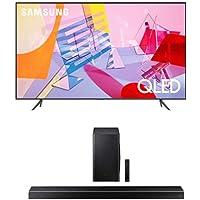 SAMSUNG Q60T Series 43-inch Class QLED Smart TV | 4K, UHD Dual LED Quantum HDR | Alexa Built-in + HW-Q60T 5.1ch Soundbar…