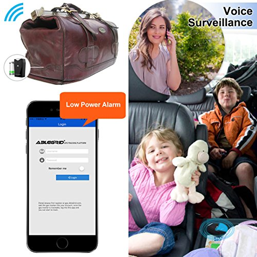 ABLEGRID Real Time GPS Tracker for Vehicles Car Motorcycle Truck Kids Teens Elderly …