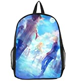 Gumstyle Aldnoah Zero Anime Cosplay Bookbag Backpack Racksack Shoulder Bag School Bag