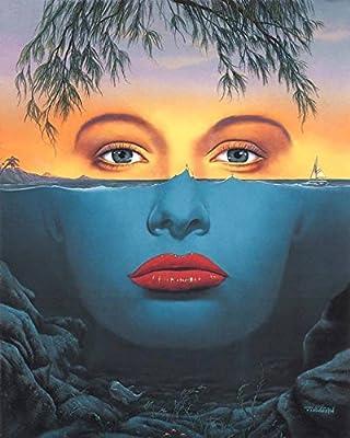 "Jim Warren Painting; Limited Edition Lithograph by Award Winning Artist Jim Warren featuring his Original work ""Illusion""."