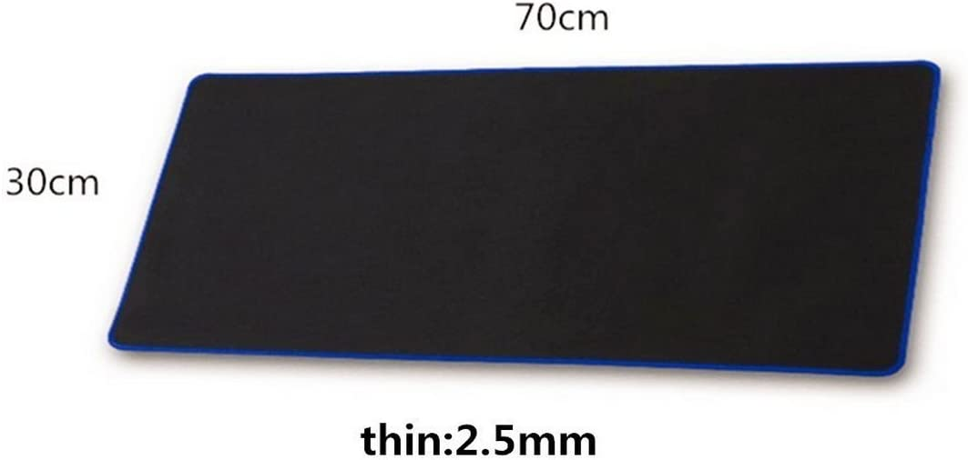 Stitched Edge Red Extra-Large Gaming Mouse Pad Mats,Big Size Mouse pad Non-Slip Rubber Base