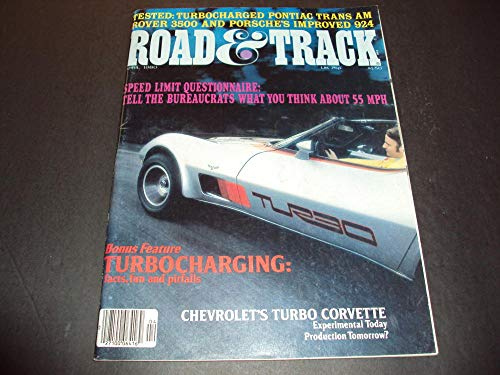 Road and Track Apr 1980 Turbo Trans-Am, Rover 3500 and Porsche 924