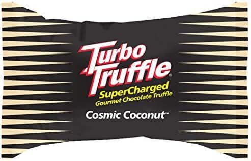 Turbo Truffle Caffeinated Energy Chocolate - Coconut flavor - 50-pak