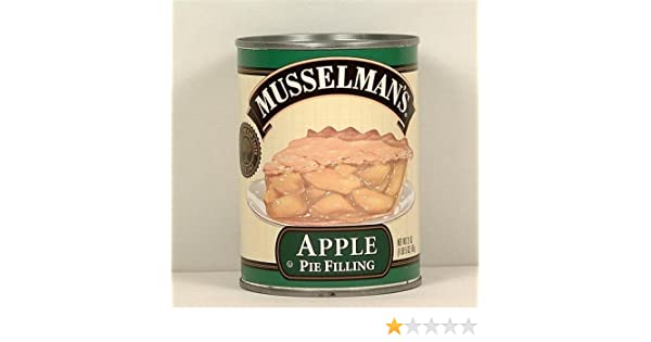 Amazon.com : Musselmans Apple Pie Filling 21 oz : Pie And Cobbler Fillings : Grocery & Gourmet Food