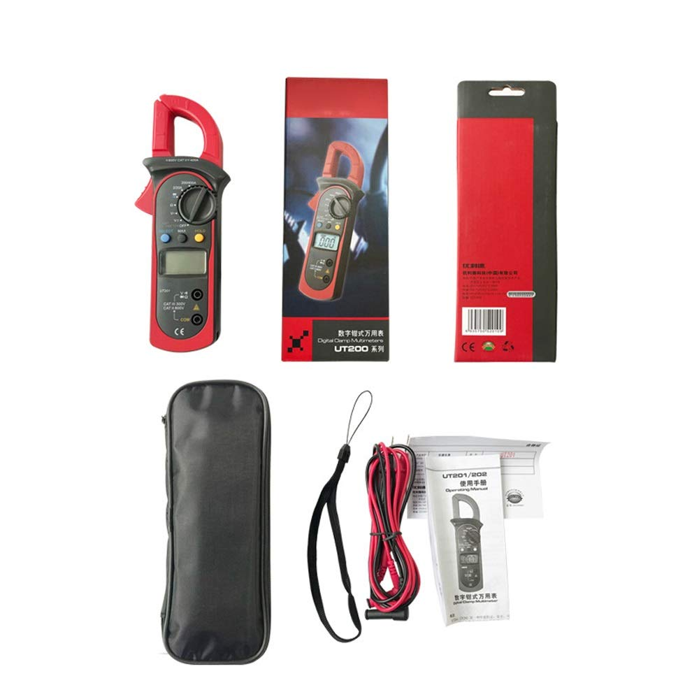 XIANGBAO-multimeter Professional UT200B LCD Electrical Professional Backlight 600A AC/DC Voltage AC Current Resistance Digital Clamp Meters by XIANGBAO-multimeter