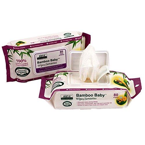 Aleva Naturals - Bamboo Baby Wipes - 80 Wipe(s)
