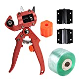 Professional Grafting Tools, Dayree Garden Nursery Fruit Tree Pro Pruning Shears Scissor Grafting Cutting Tool Snip Secateur Machine with 2 Extra Blades and Grafting Tape