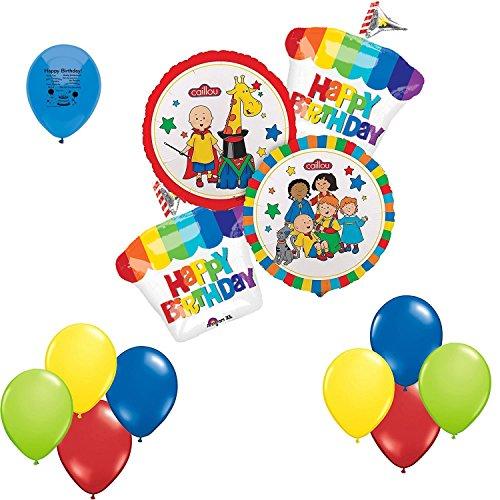 Anagram Caillou Happy Birthday Balloon Bouquet -